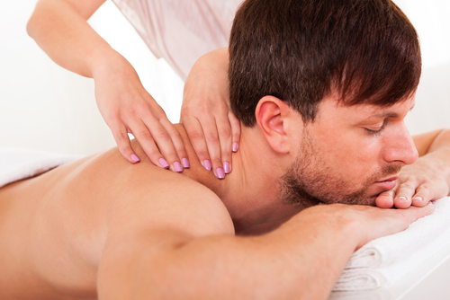 Neck and Shoulder and Back  Massage